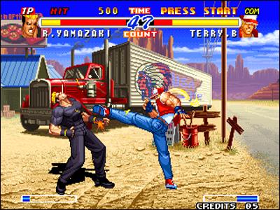La Neo Geo survole littérallement la concurrence techniquement.
