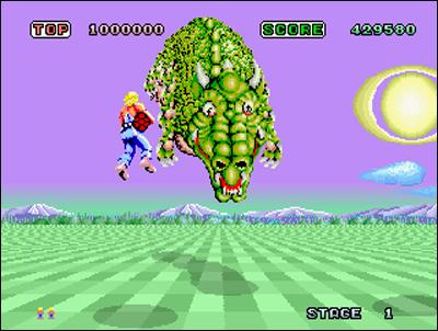 Space Harrier - Sega - 1985