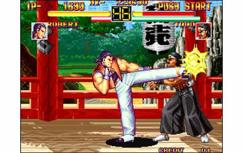 Art Of Fighting Us Neo Geo Arcade Retro Games