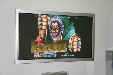 Avec le XRGB-3, le résultat est de qualité égale au CRT!