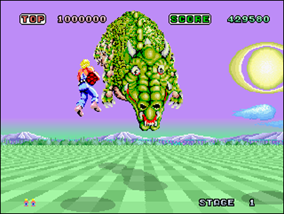 Space Harrier - Sega - 1985