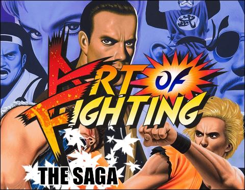 The Art Of Fighting Saga Neo Geo Arcade Retro Games