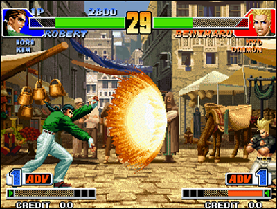 Kof 98 is a monster, both for gameplay and roster!