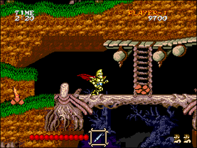 Here's Ghouls'n'Ghosts best home system port.