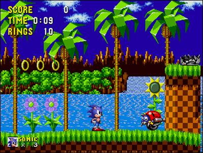 Sonic fût un redoutable adversaire pour Mario... à l'époque.