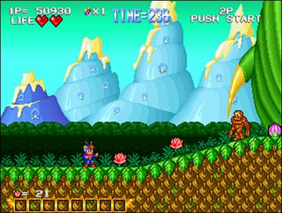 """Blue's Journey joue dans le registre """"Mario"""" et s'en sort plutôt bien!"""
