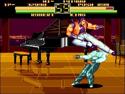 La petite NEC offre le meilleur portage 16 bits de Art of Fighting.