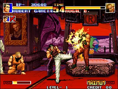 Dans Kof 94, les héros de AOF rencontrent ceux de Fatal Fury!