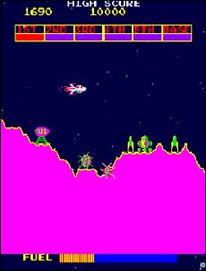 Scramble - Konami - 1981