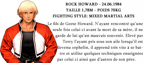ROCK HOWARD