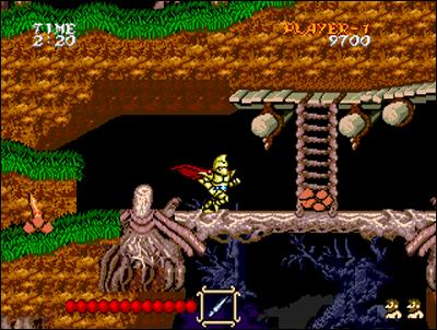 Voici la meilleure adaptation de Ghouls'n'Ghosts sur console.