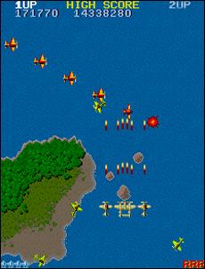 Le prenant 1942 de Capcom (1984)