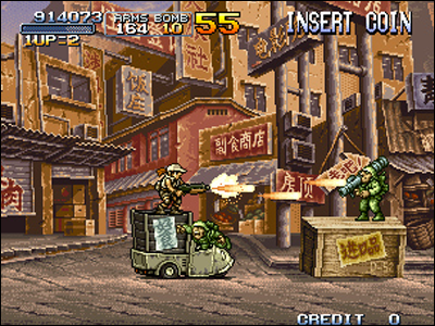 L'opus X est l'un des plus attachant de la saga Metal Slug.