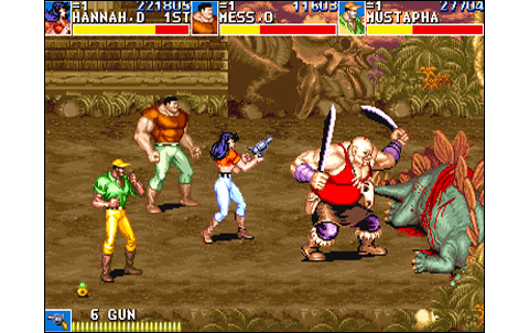 Cadillacs & Dinosaurs US - Neo Geo, Arcade & Retro Games