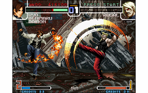 King Of Fighters 2002 Us Neo Geo Arcade Retro Games