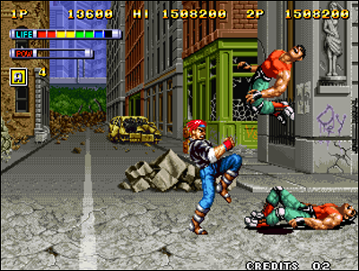 Mutation Nation - SNK - Neo Geo
