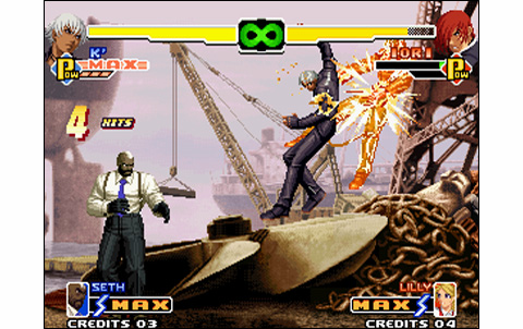 King Of Fighters 2000 Us Neo Geo Arcade Retro Games