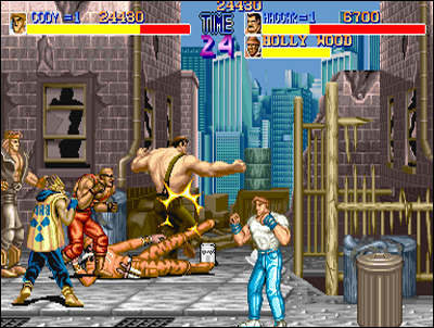 Final Fight becomes Beat them Up's new benchmark.