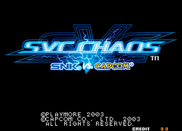 SVC Chaos US - Neo Geo, Arcade & Retro Games
