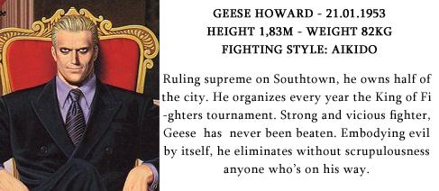Geese Howard