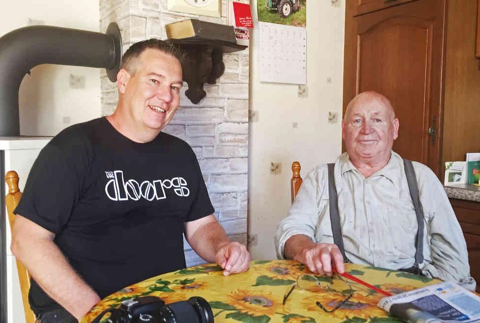 Bernd Servos ist Mitglied im Bürgerrat und besucht Morschenicher wie Wilhelm Kaiser oft. Der Umzug ist für sie beschlossene Sache. Fotos (6): Ludwig