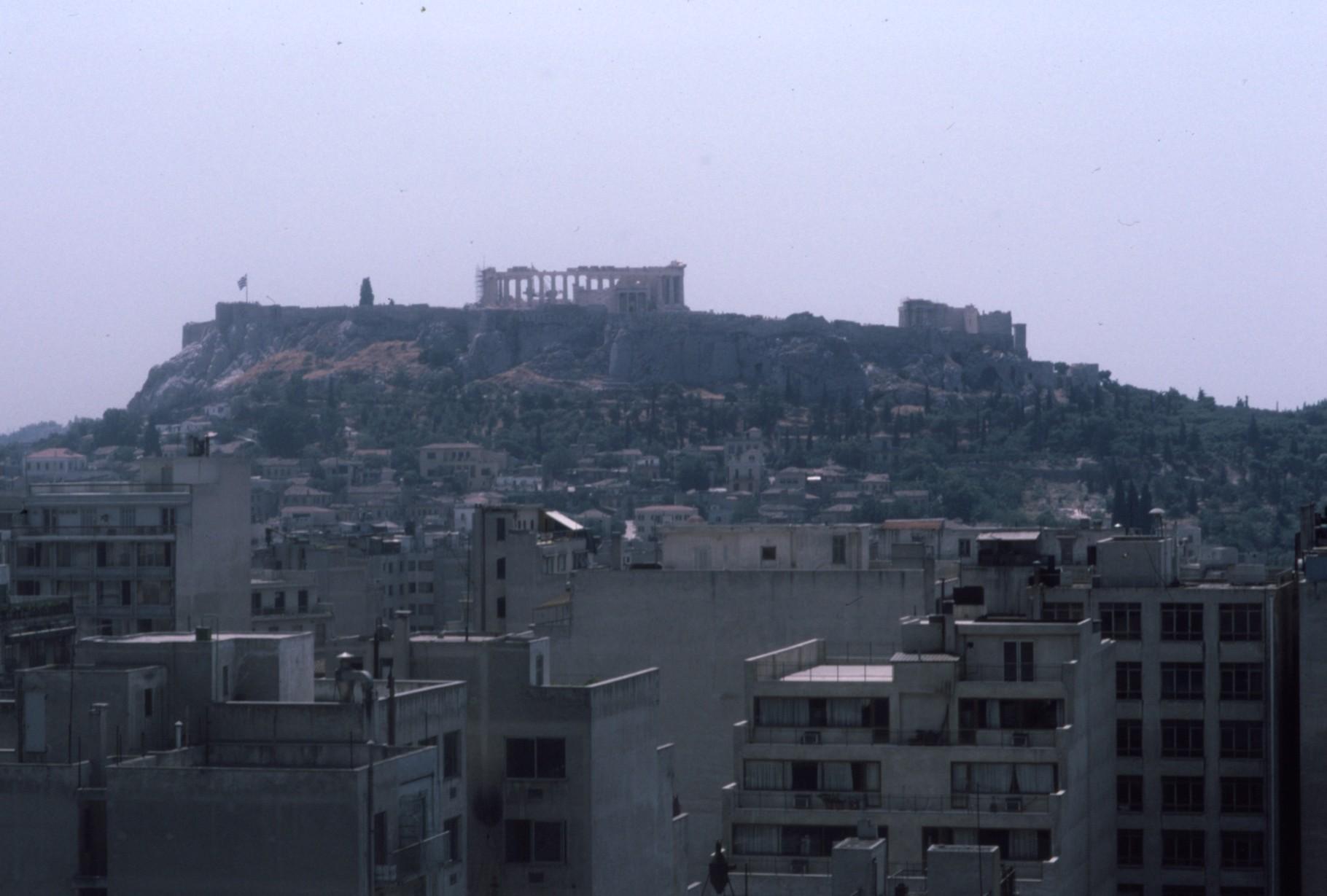 北側からみたアクロポリス