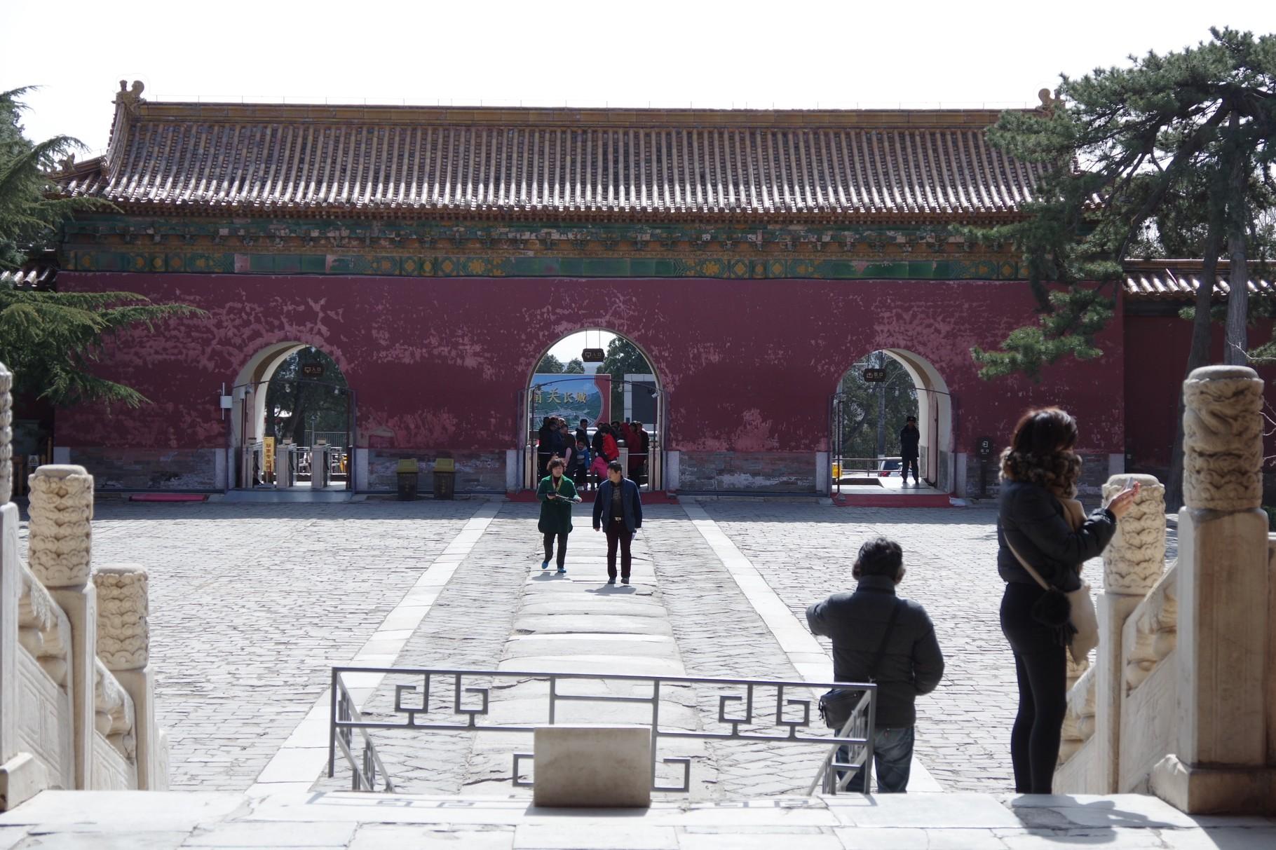 「陵門」の北面