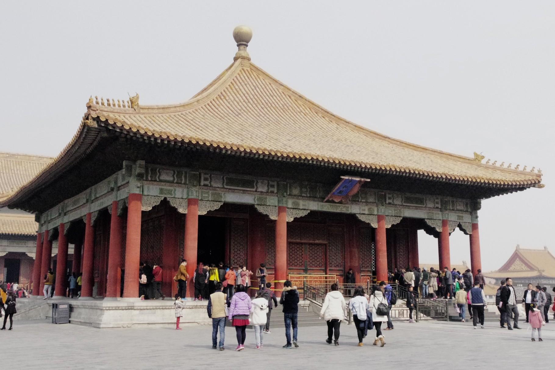 第二の主殿 中和殿