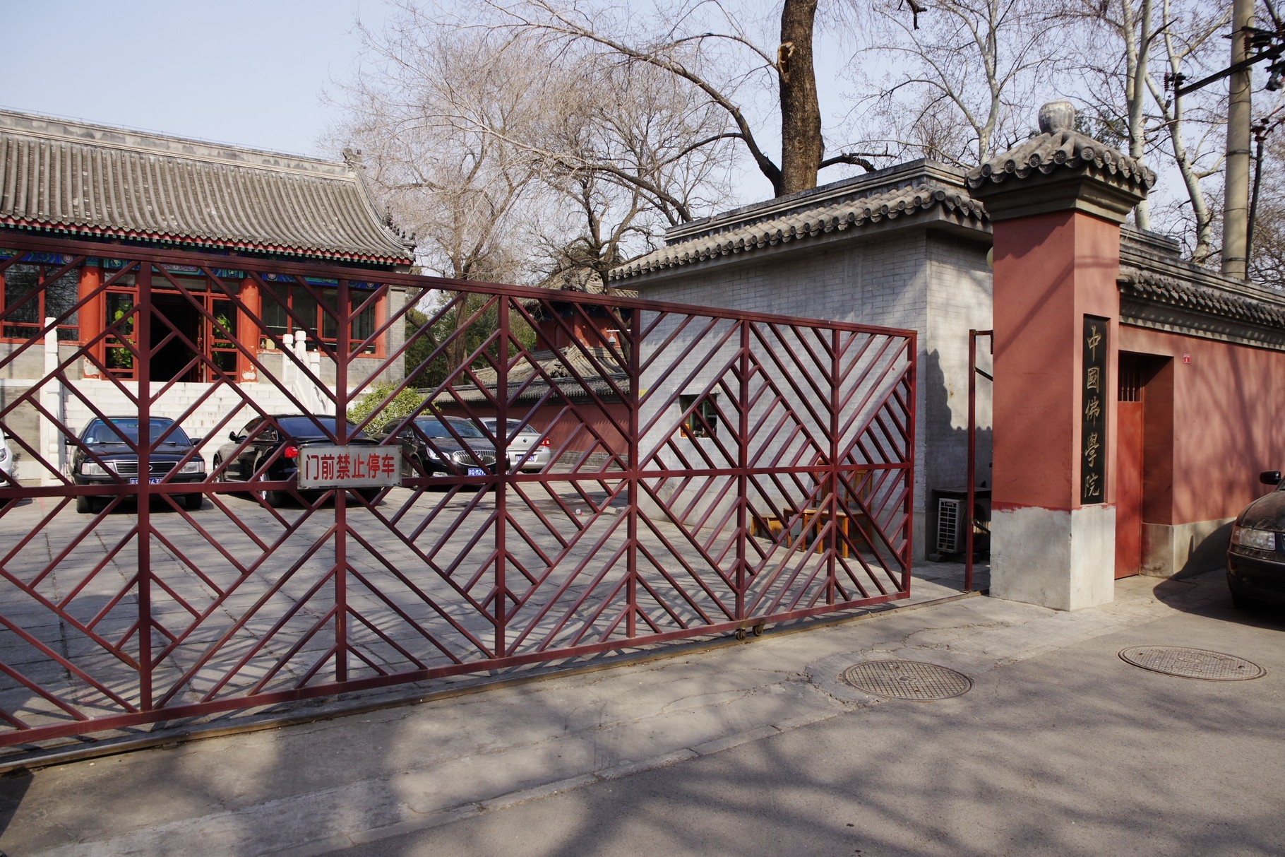 西隣の「中国佛学院」