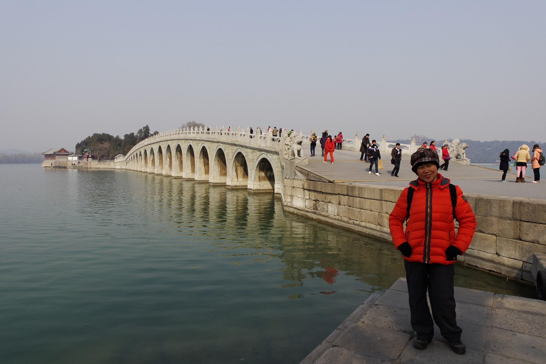 頤和園の十七孔橋