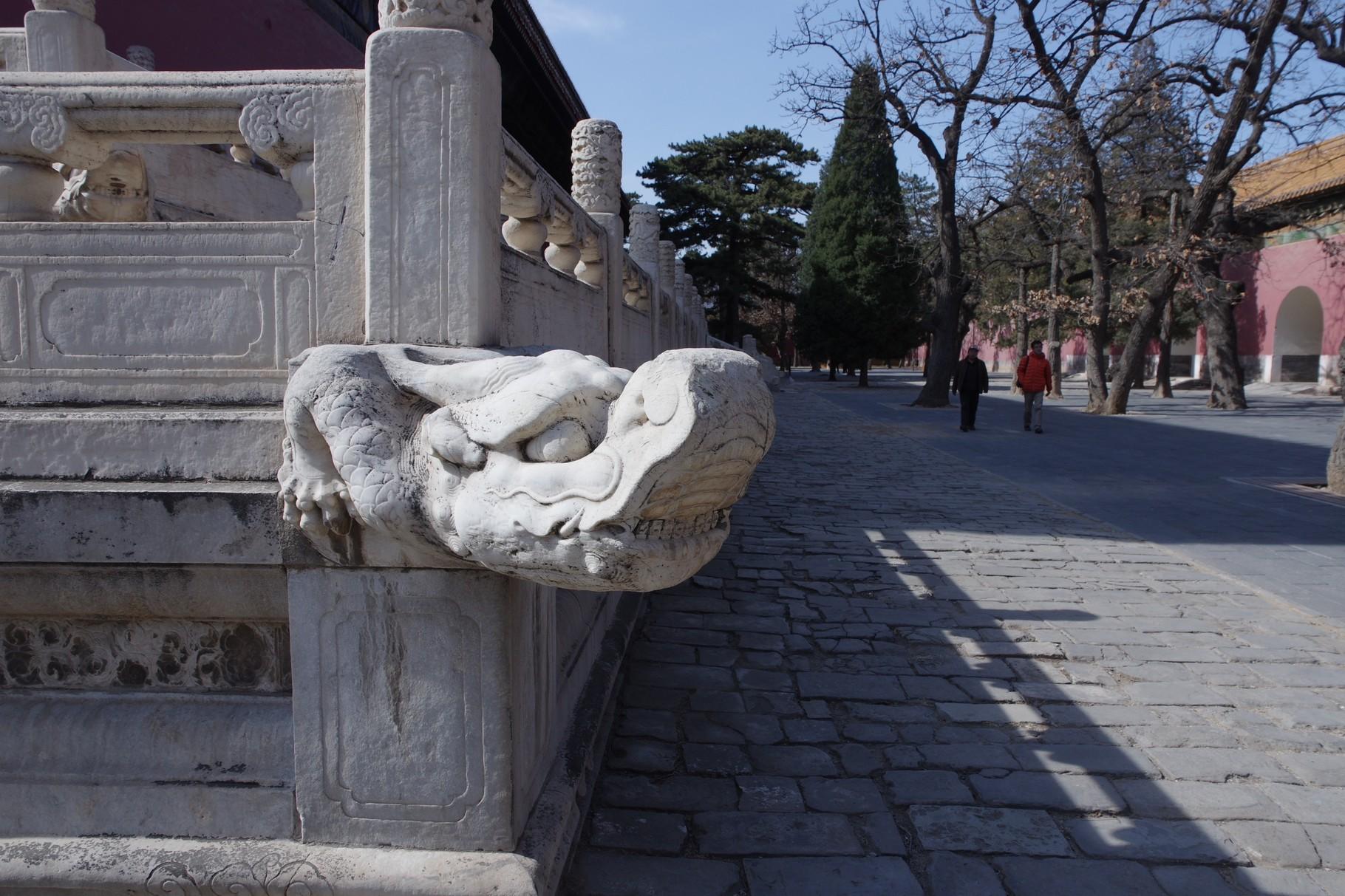 基壇の排水口 「蛇口」