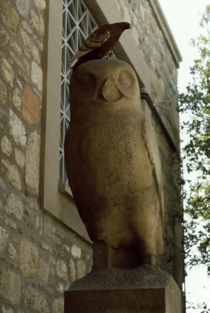 1987年当時の「アクロポリス博物館」