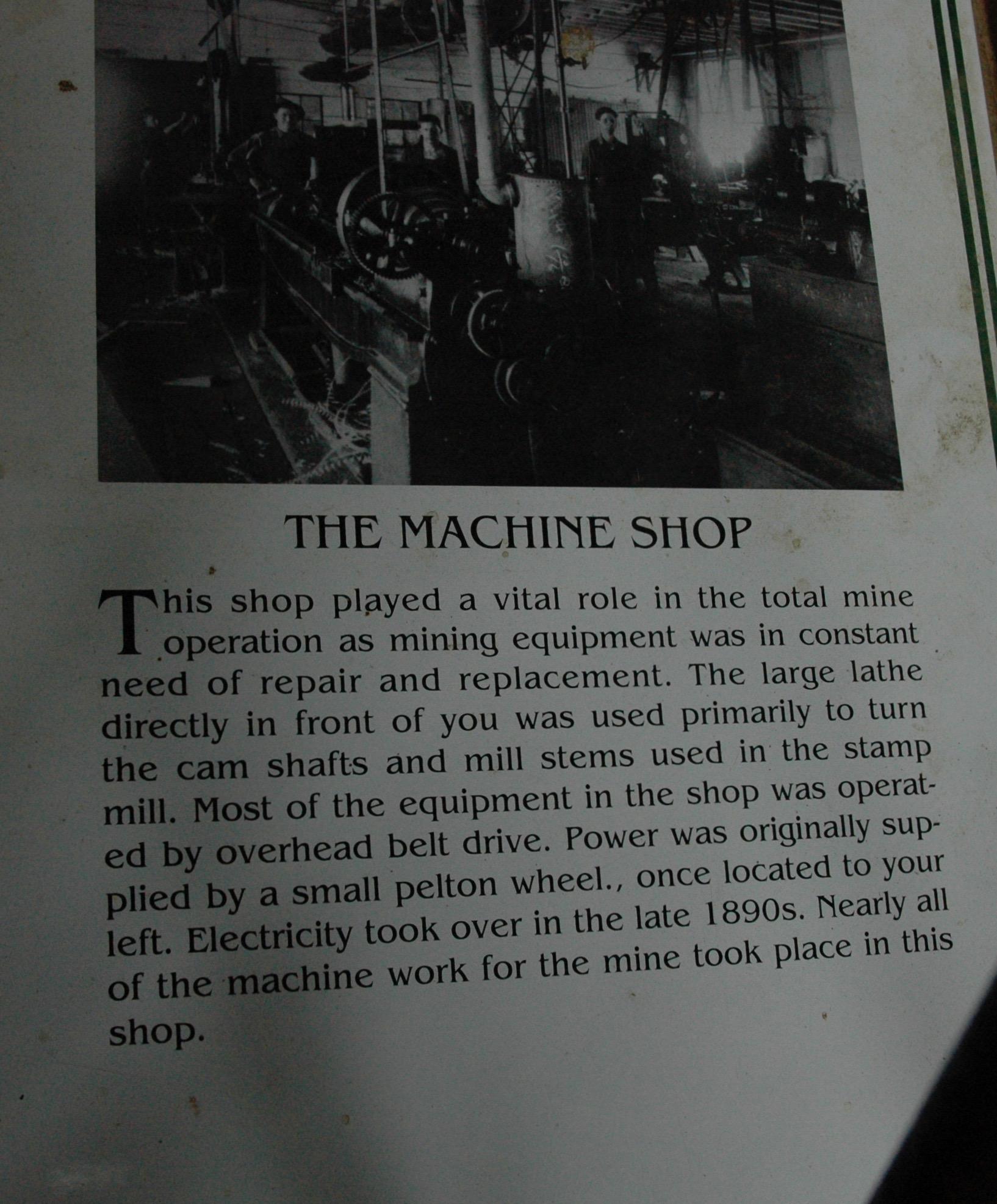 機械製造作業場
