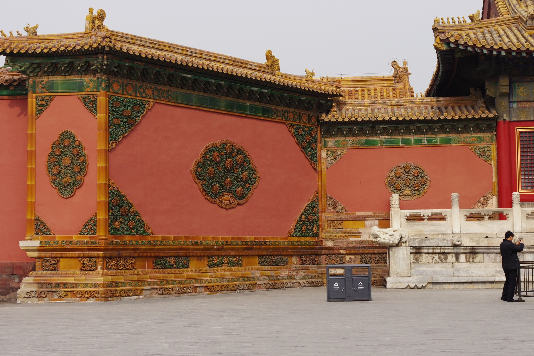 乾清門の影壁