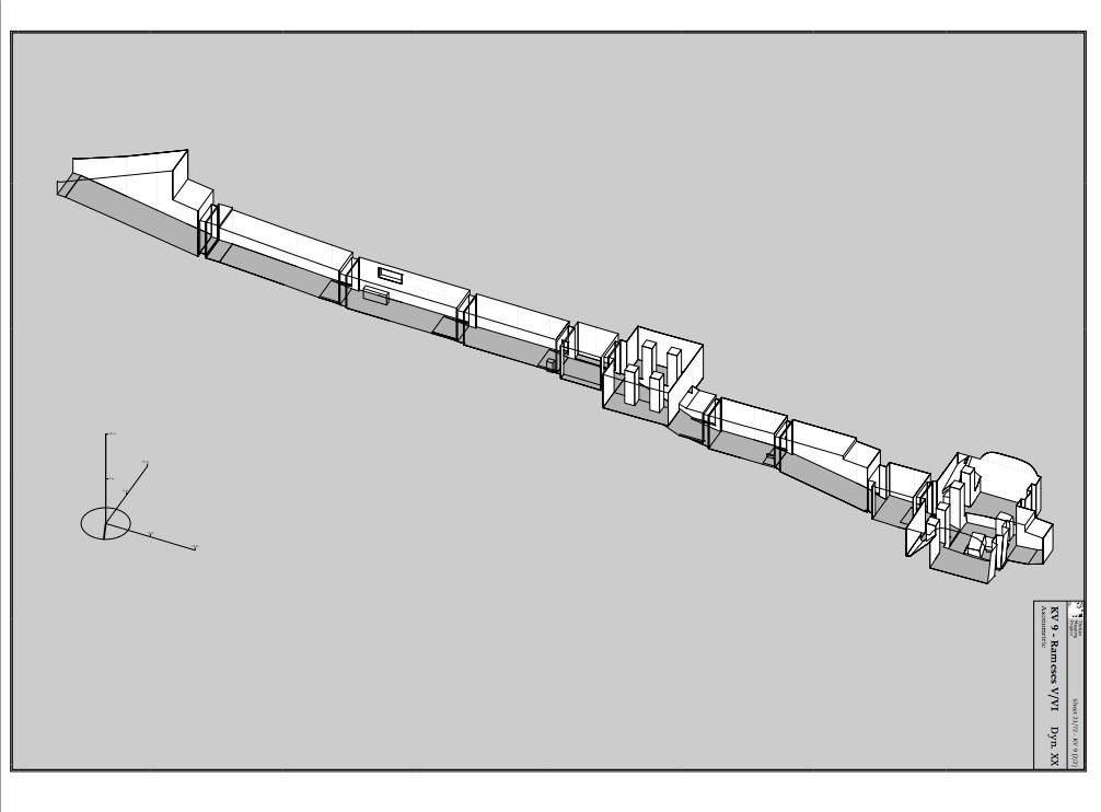 ラメセスⅥ世の墳墓(http://www.thebanmappingproject.com/)