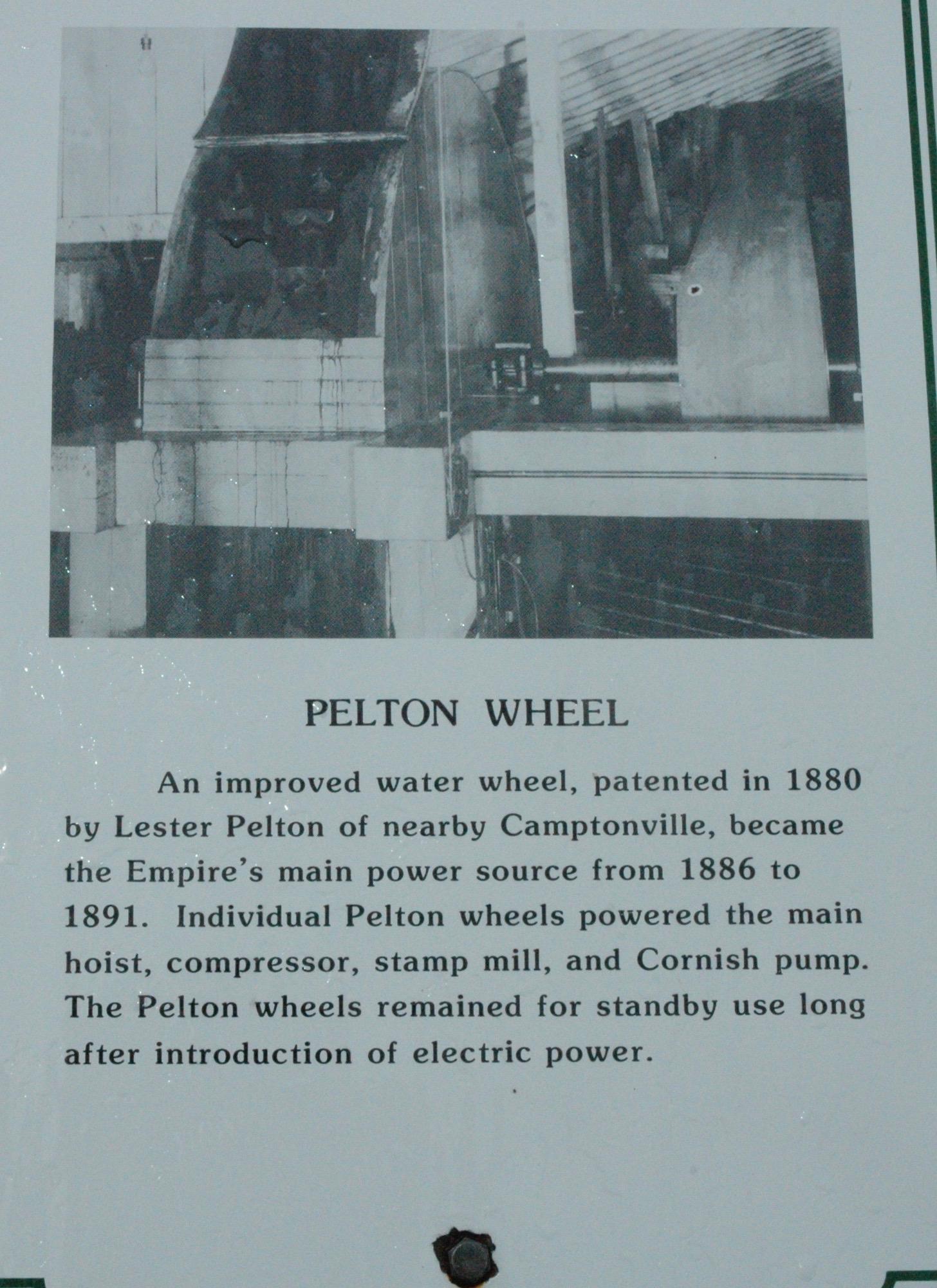 ペルトン水車