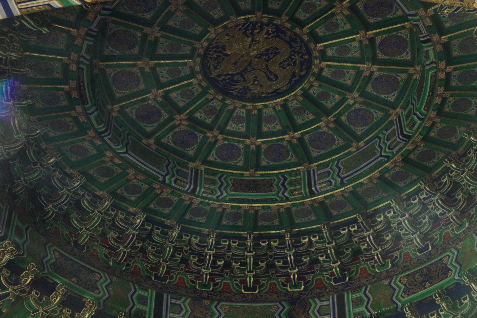 皇穹宇の内部