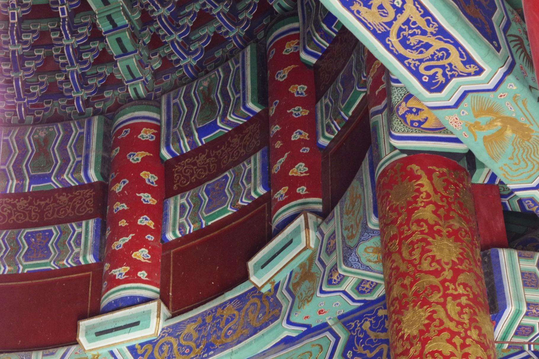 祈年殿の内部