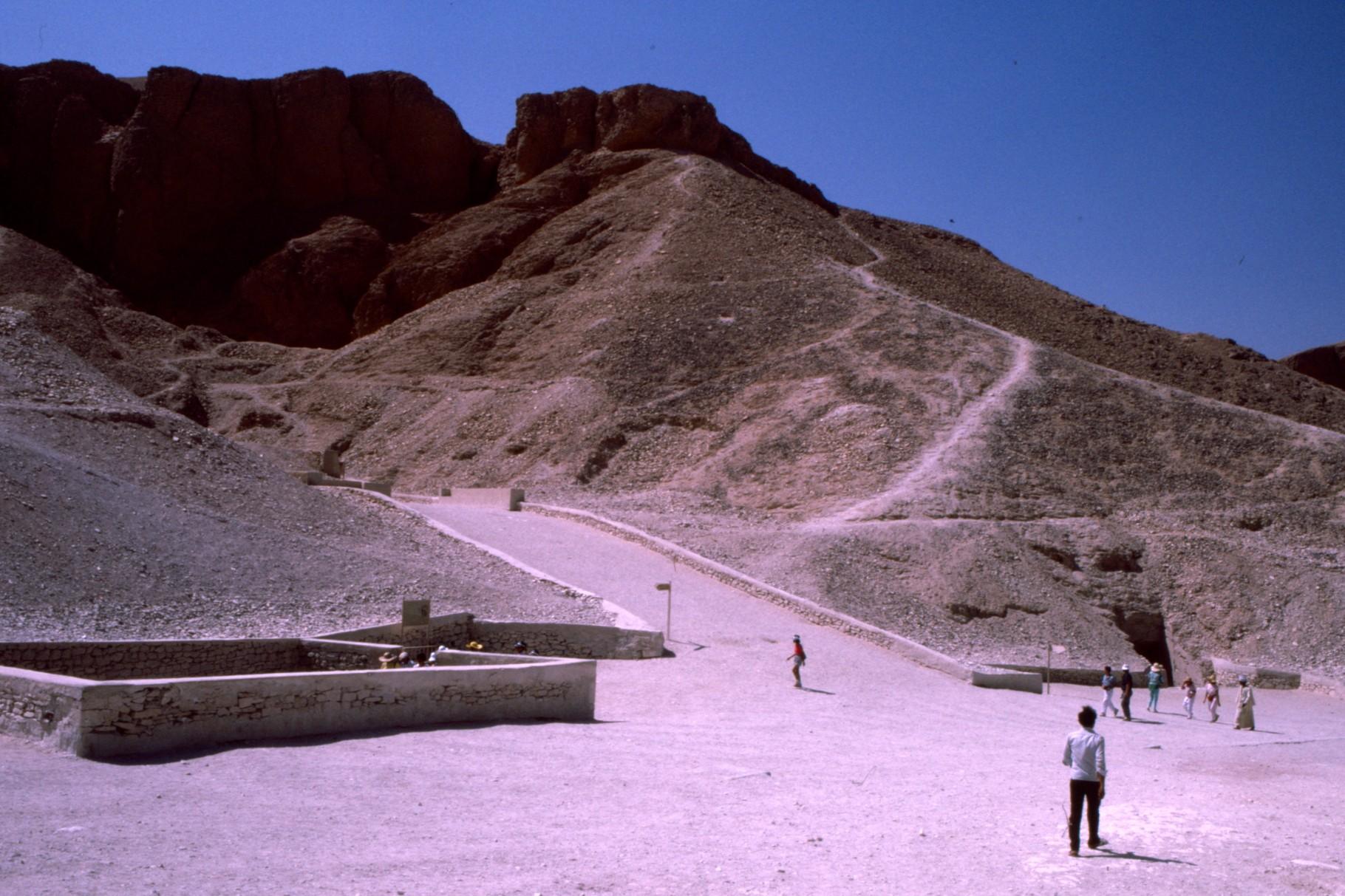 1987年当時は、観光客は少なかった