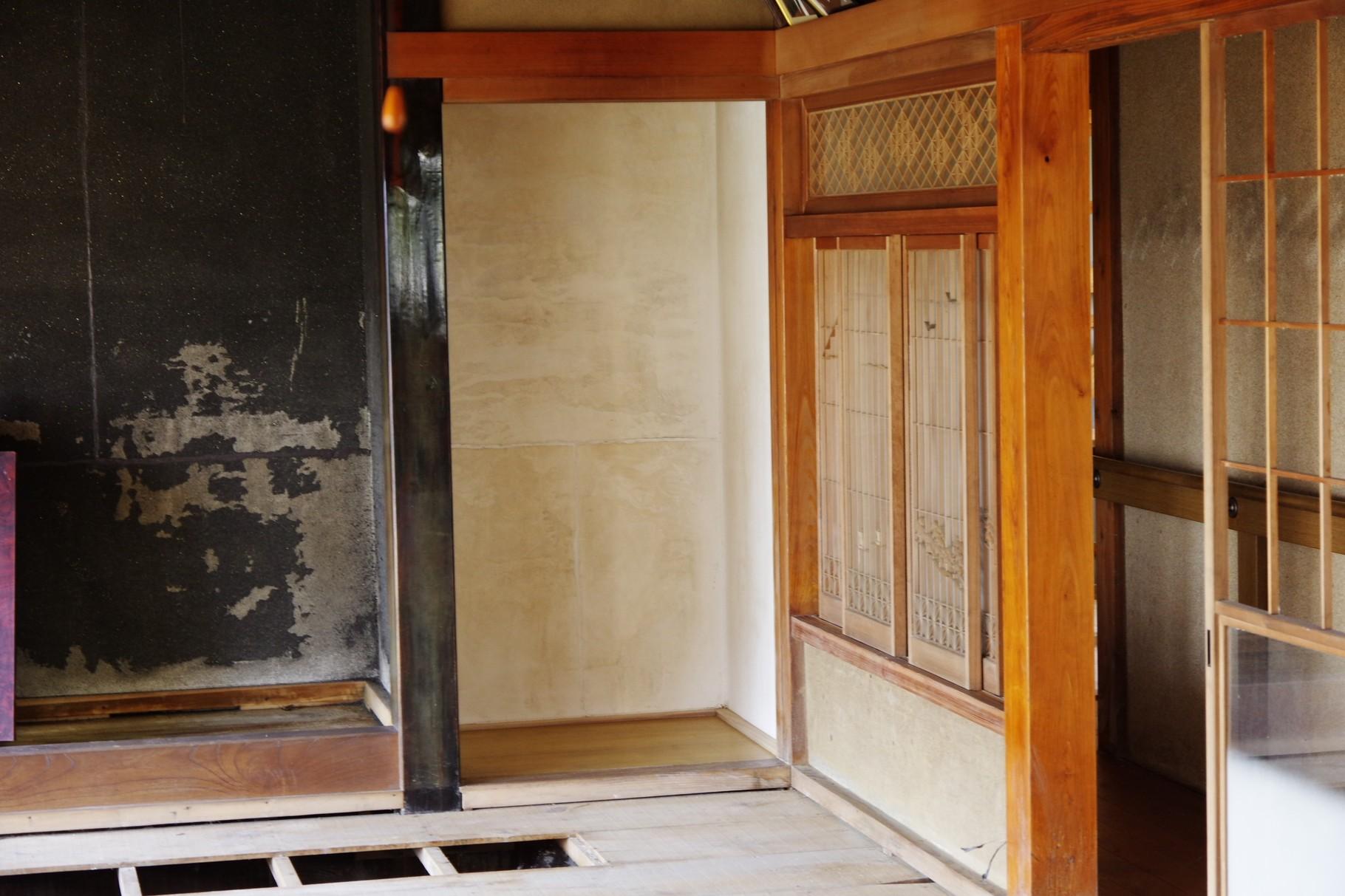 仏壇のあった場所