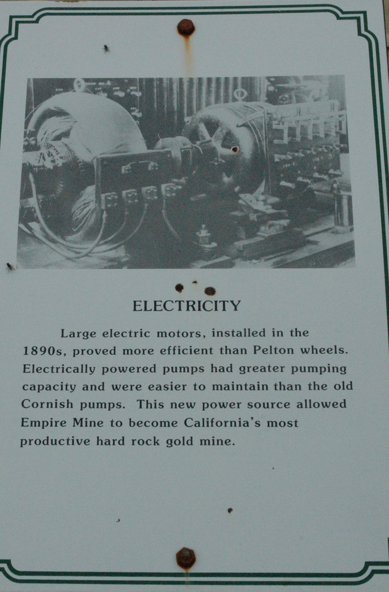 電機 19世紀末に導入