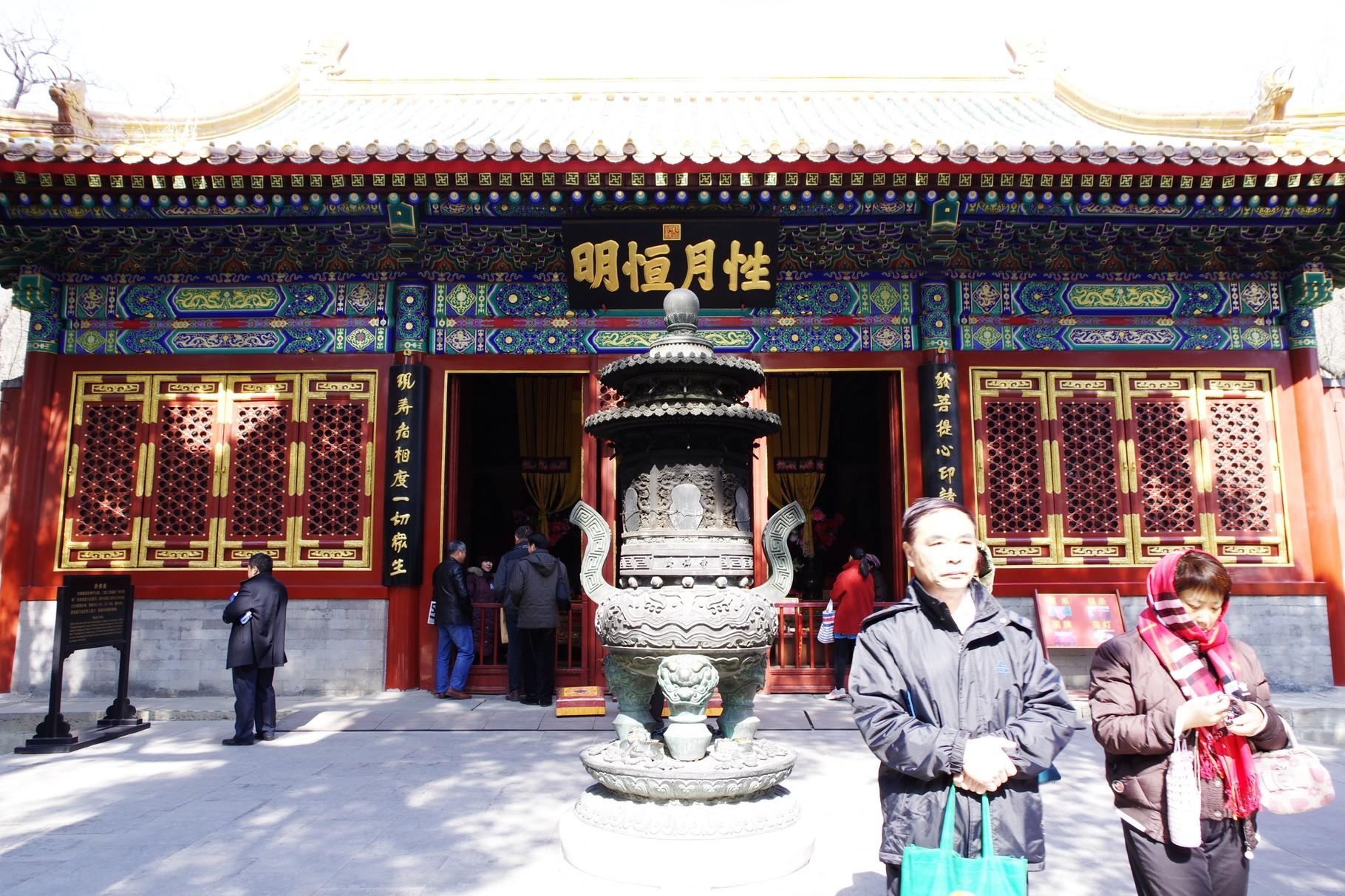 第三の主殿 臥仏堂 5.2mの釈迦涅槃像