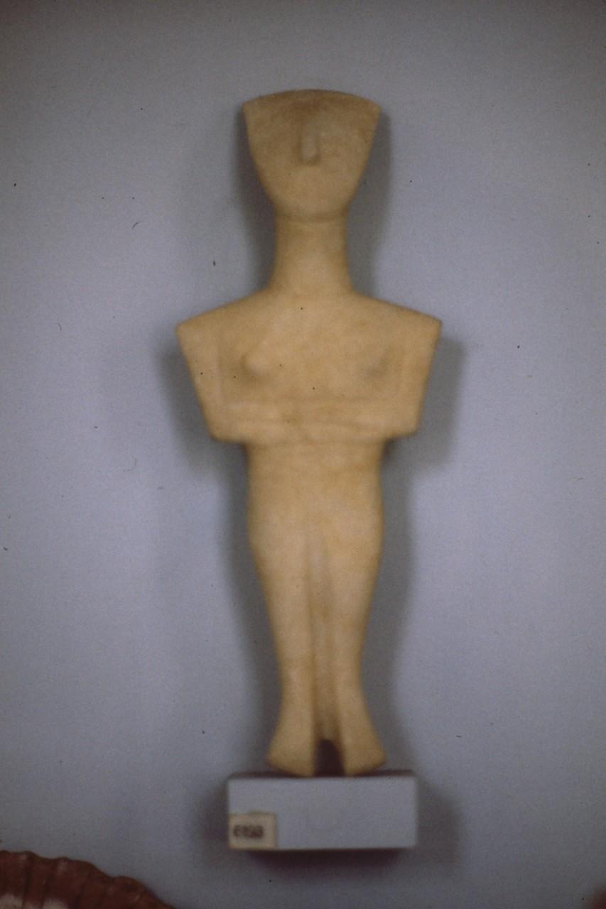 キクラデス文化 人物像
