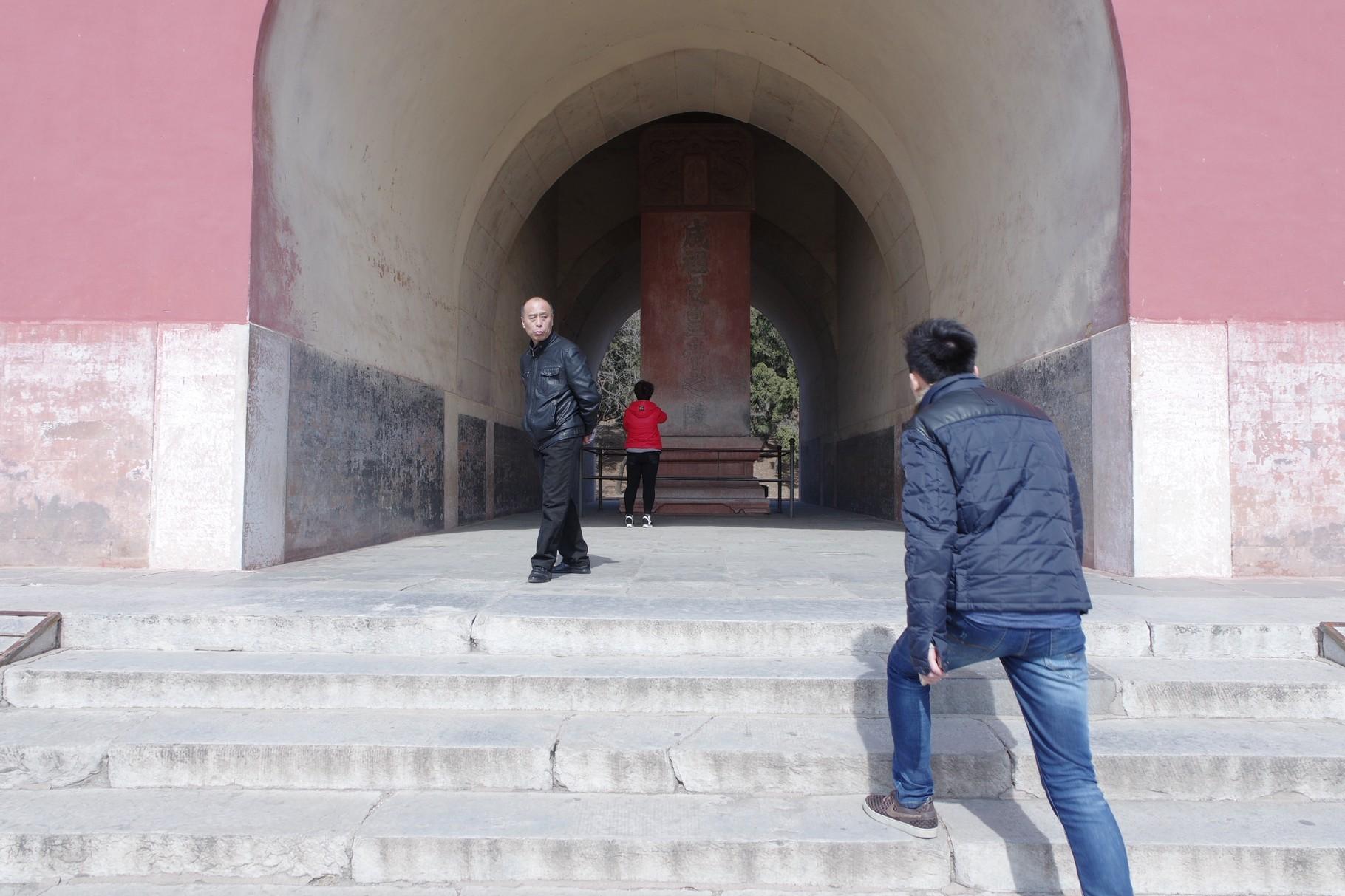 「明楼」内の碑
