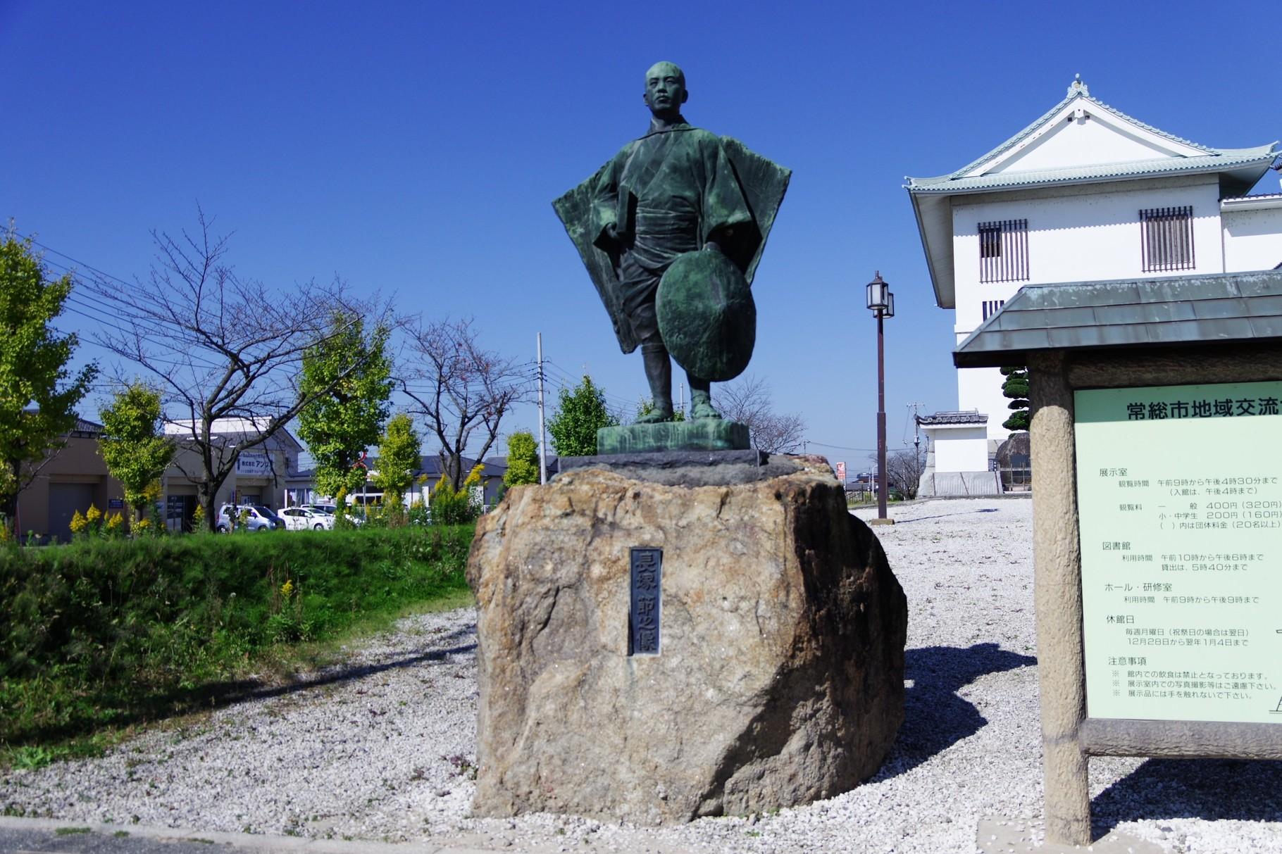 長塚節(たかし)は若宮戸村対岸の国生(こっしょう)村出身