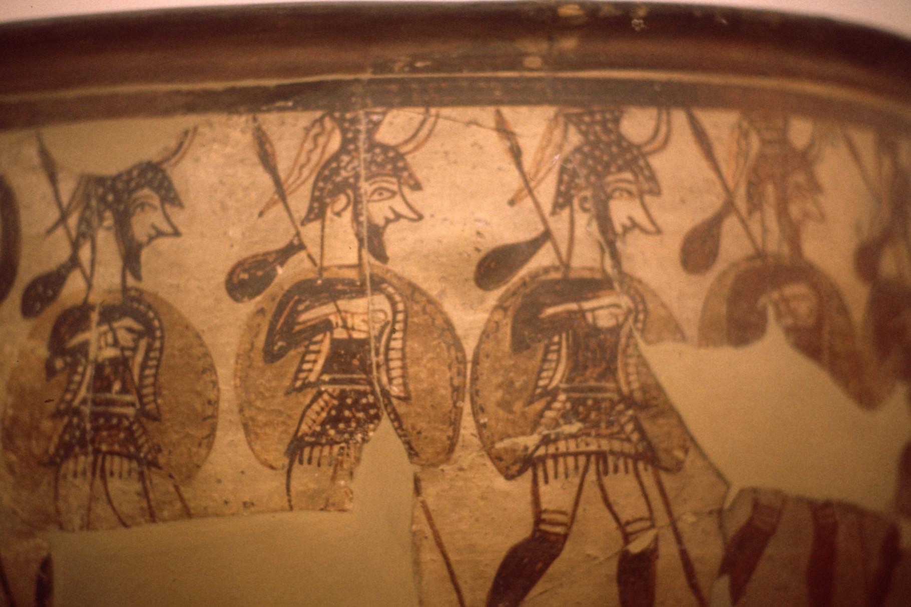 壺 「ミケーネの戦士」