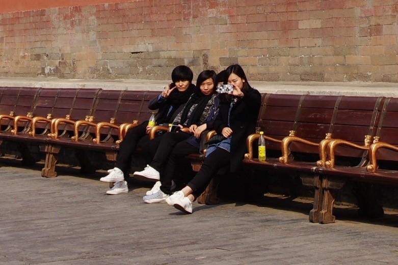 自撮り・紫禁城