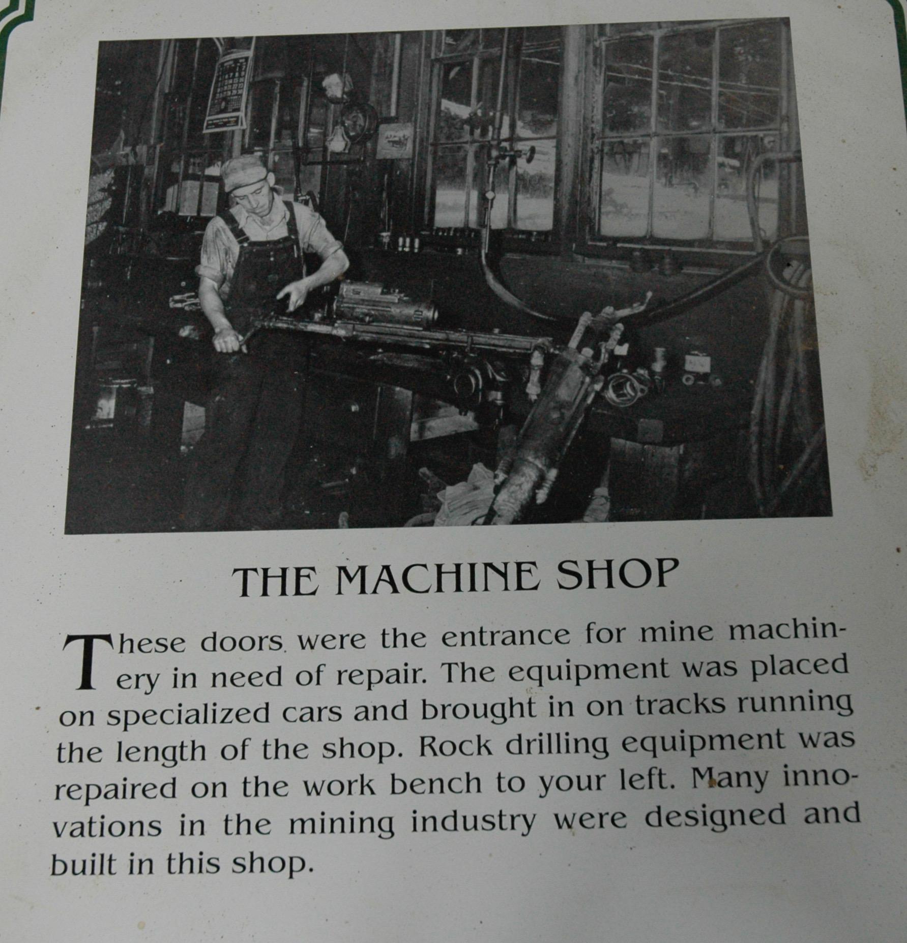 機械修理作業場