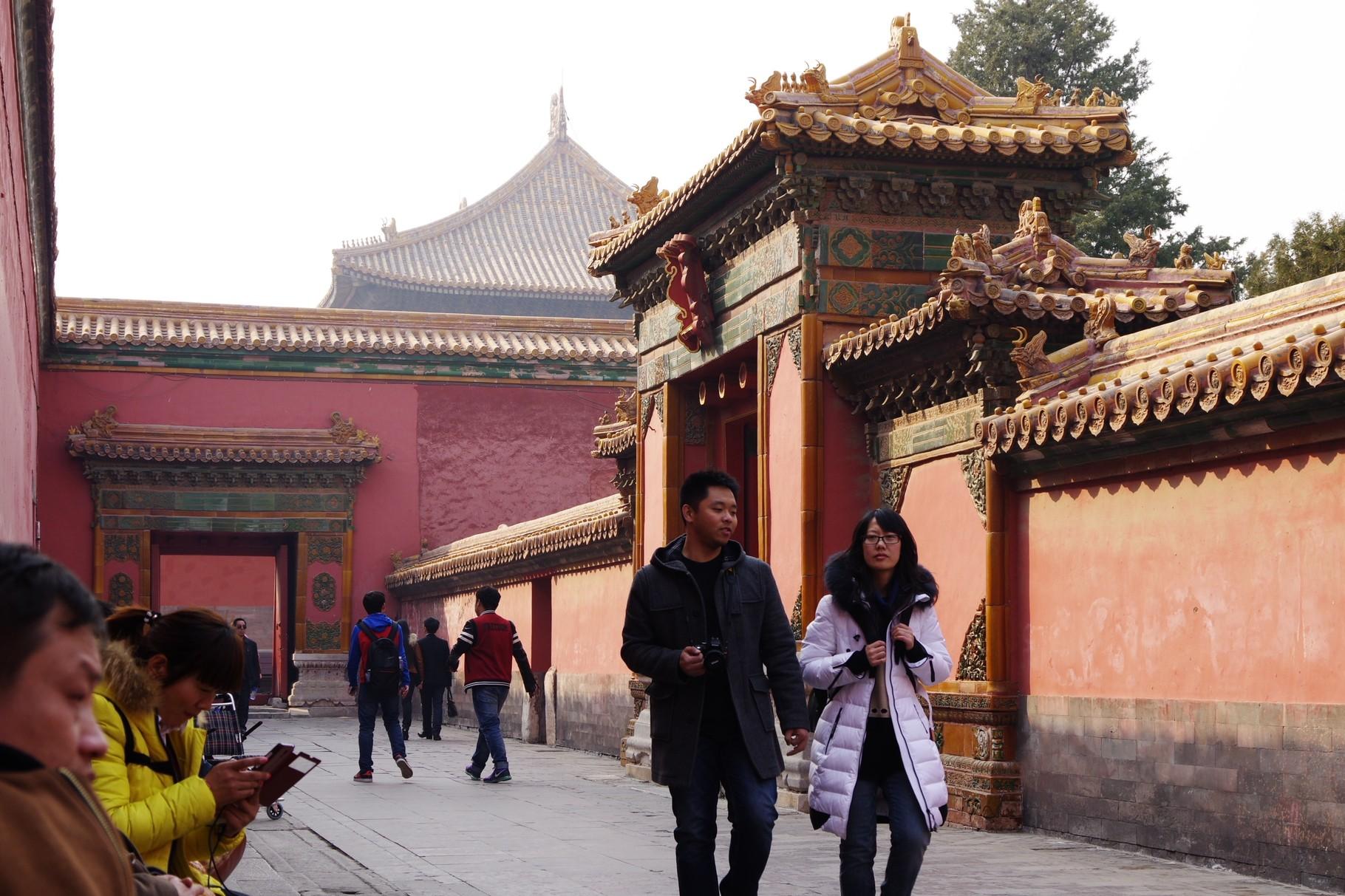 景仁宮への門