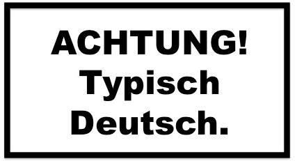 ACHTUNG! Typisch Deutsch. - Interkulturelle Kompetenz